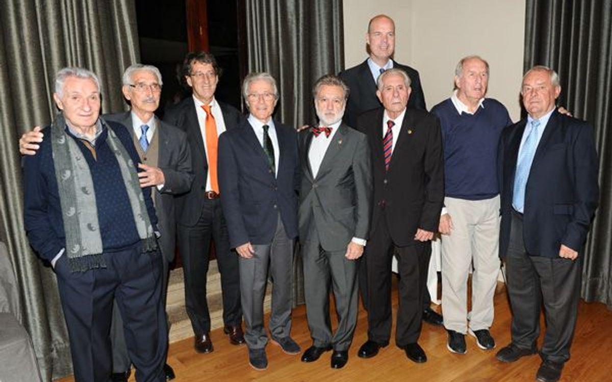 Homenaje del Panathlon Barcelona a Ferran Olivella