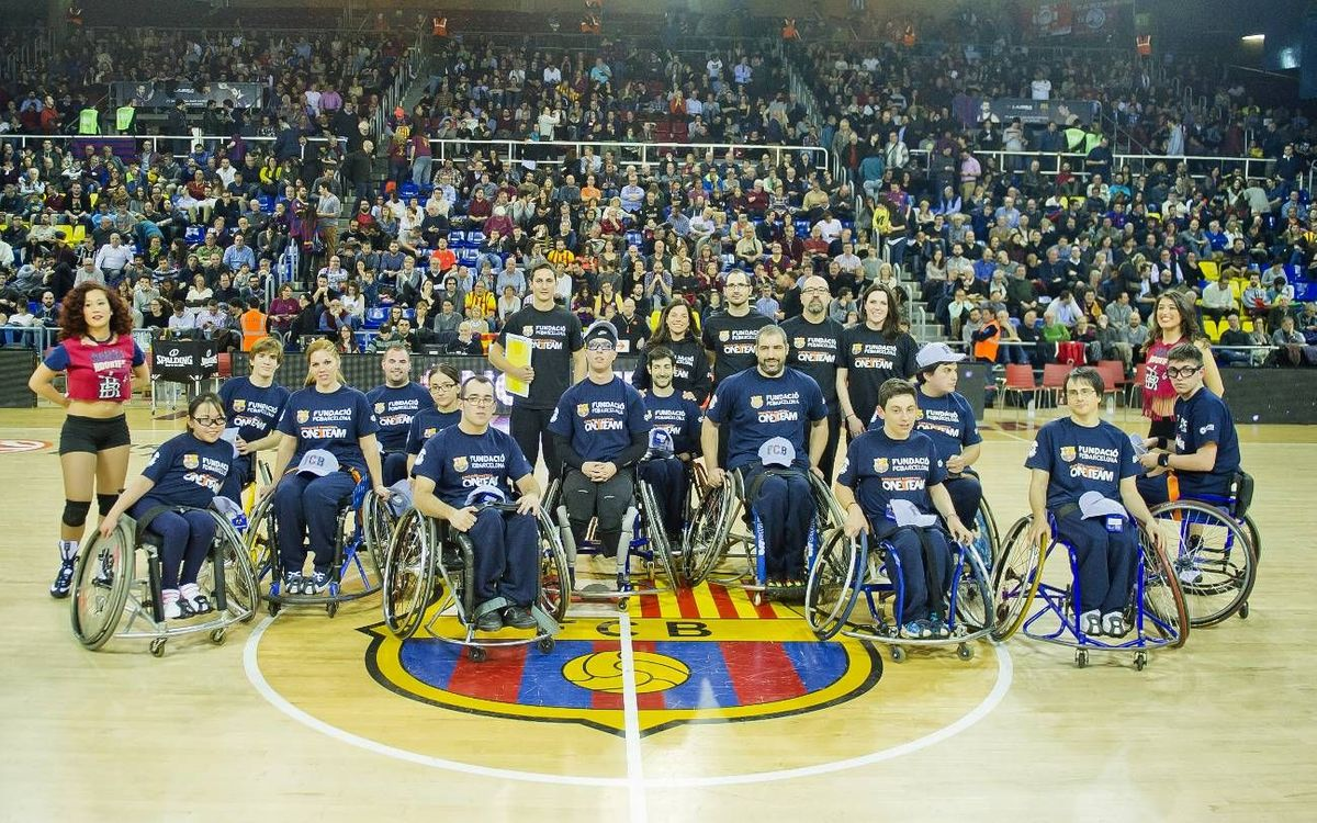 Nit de 'One Team' al Palau