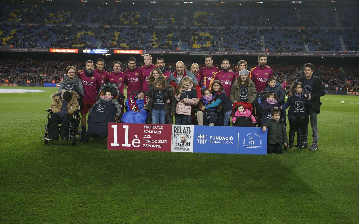 L'11è projecte solidari del periodisme esportiu, al Camp Nou