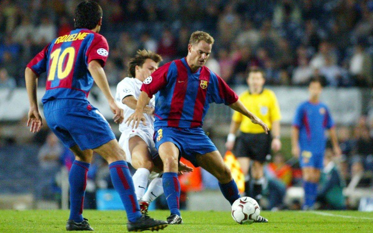 Frank de Boer's Barça past