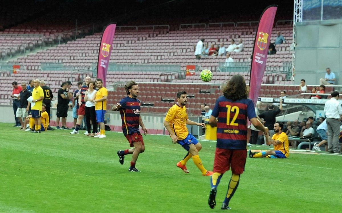 Els exjugadors del Barça tornen al Camp Nou