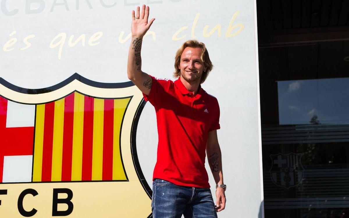 DIRECTE – Presentació de Rakitic com a nou jugador del Barça