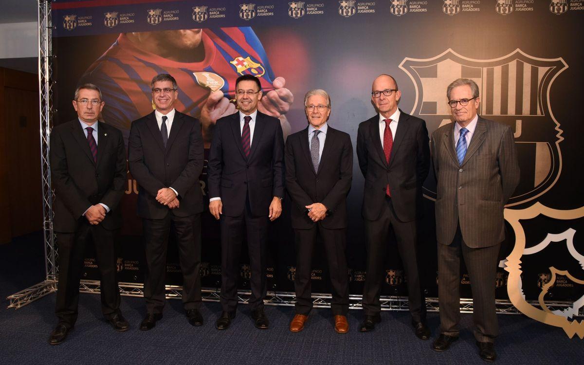 El FC Barcelona i l'Agrupació posen en marxa el programa FCB Legends