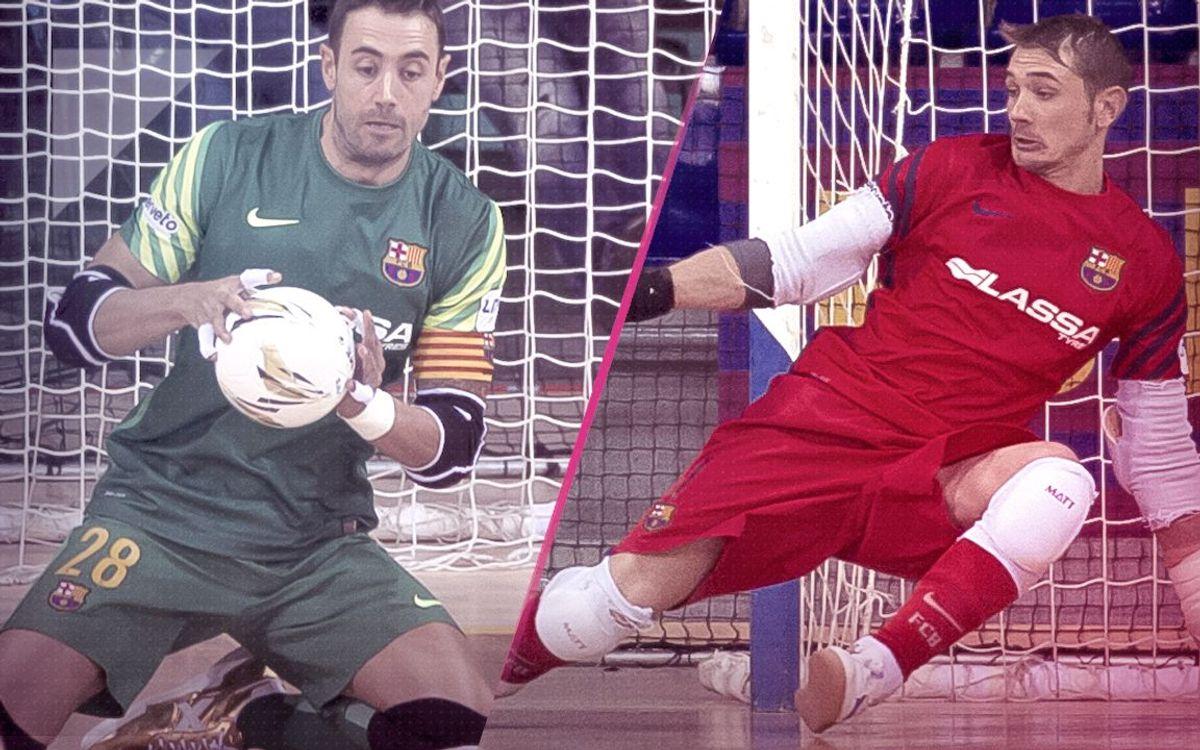 El Barça Lassa, la mejor portería de la LNFS