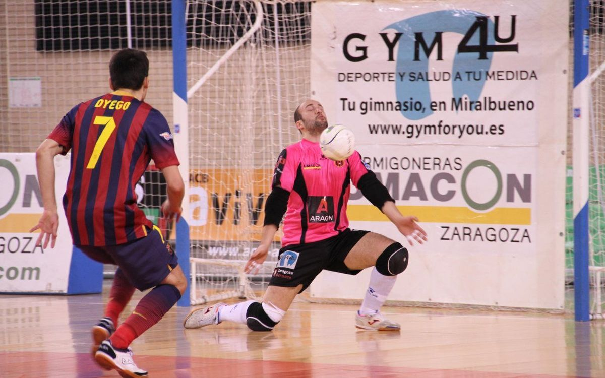 Umacon Saragossa – FC Barcelona Alusport: Repiten goleada (2-6)