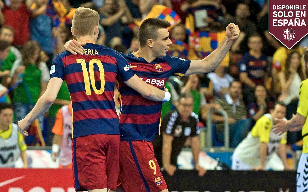 EN DIRECTE - FC Barcelona Lassa - Dynamo Moscou