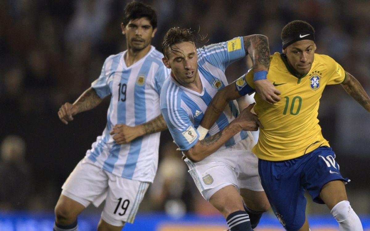 Empat entre l'Argentina i el Brasil al Monumental (1-1)