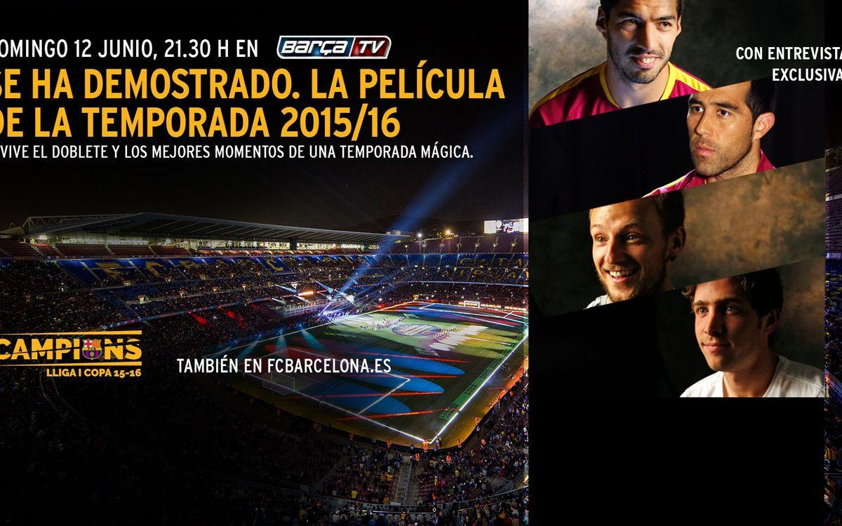 El FC Barcelona estrena '¡Se ha demostrado! La película'