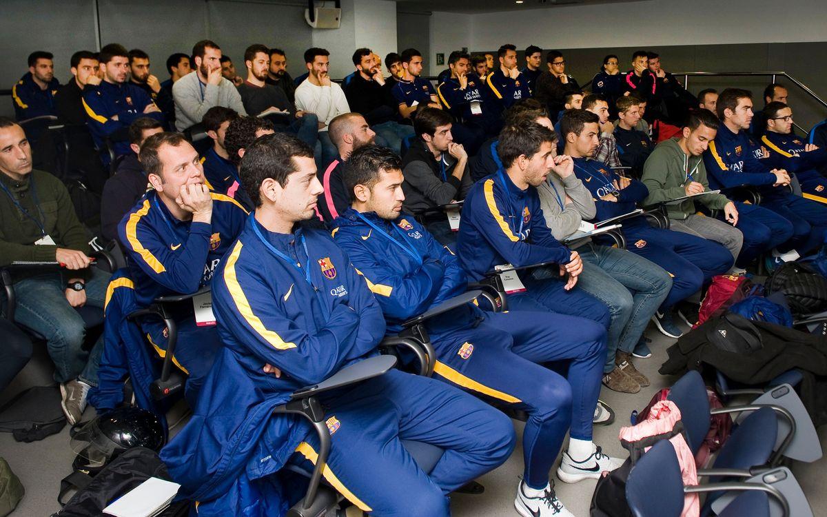 Tres socios de la Agrupació Barça Jugadors entran en la FCB Coaches Academy