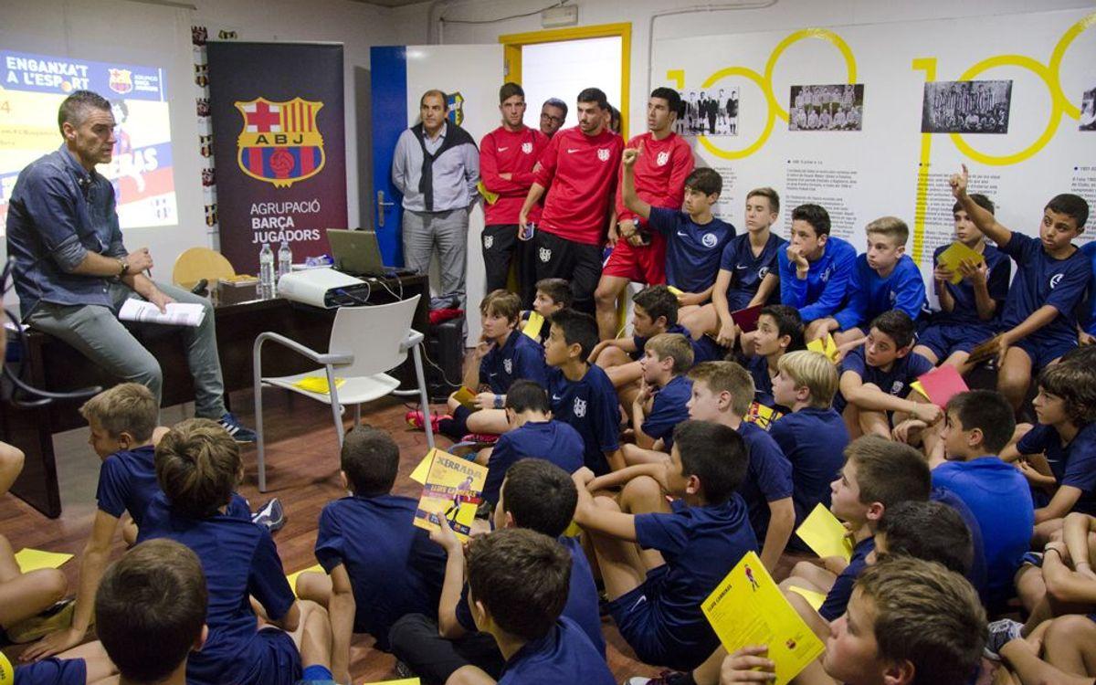 Lluís Carreras protagonitza una nova jornada Enganxa't a l'esport