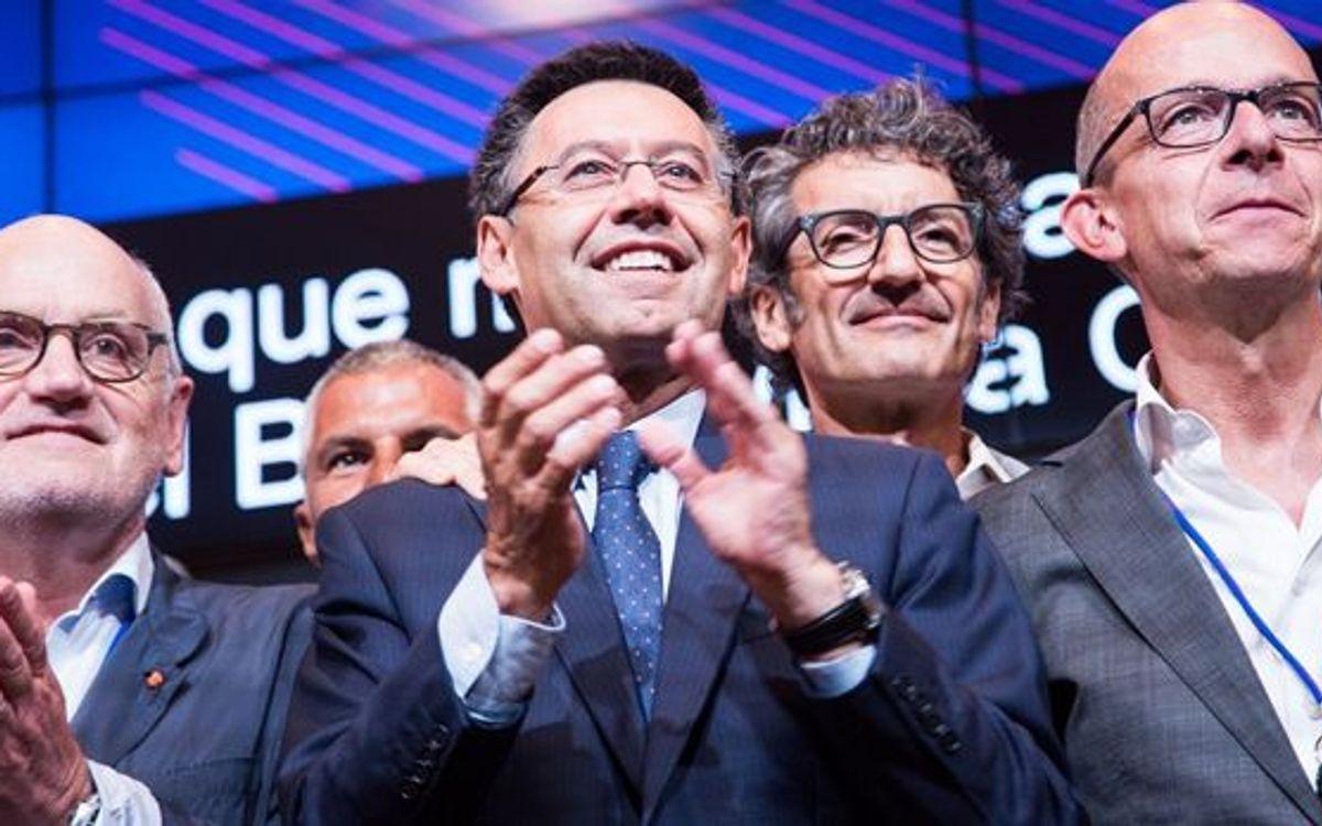 Josep Maria Bartomeu, escollit President del FC Barcelona
