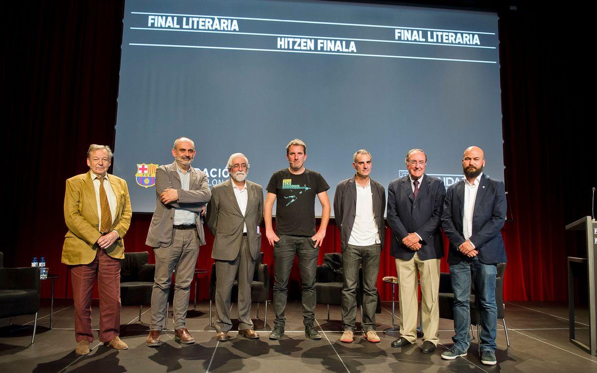 Final literària a la prèvia del Barça-Athletic Club
