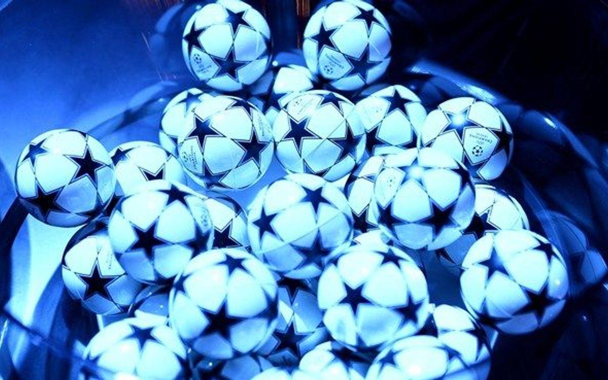 Definidos los posibles rivales del Barça en el sorteo de Champions