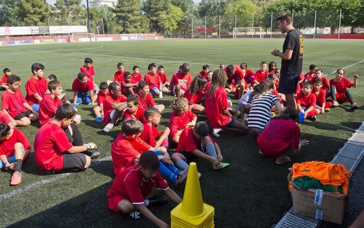 'FutbolNet' tanca amb èxit el seu primer tast a Manresa