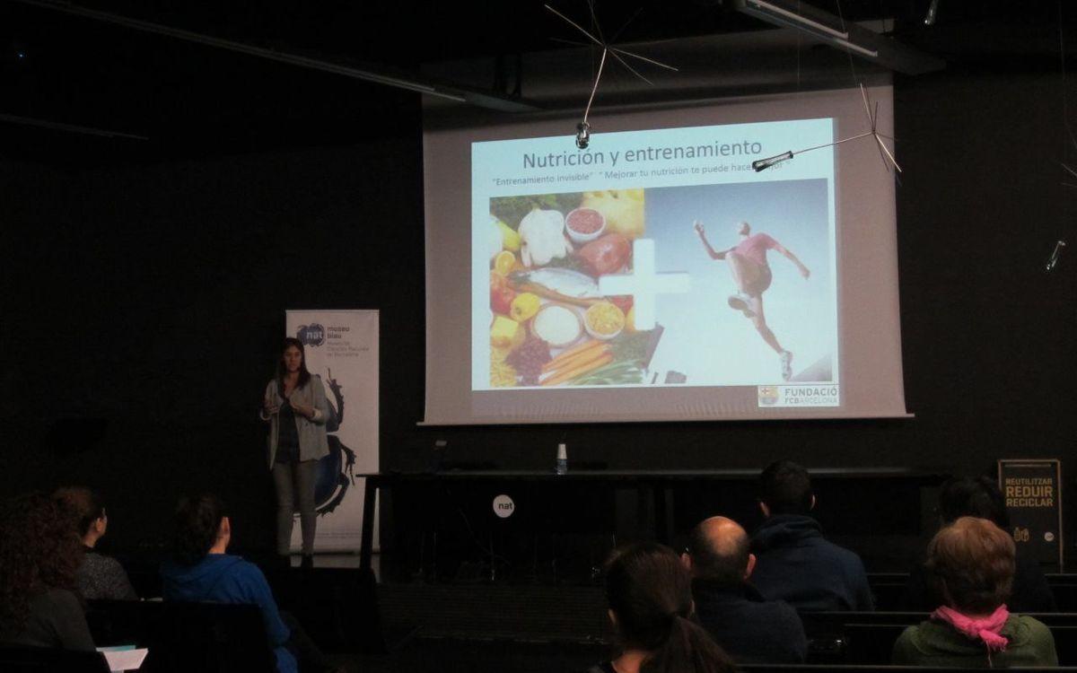 Xerrada sobre nutrició i esport al Museu Blau