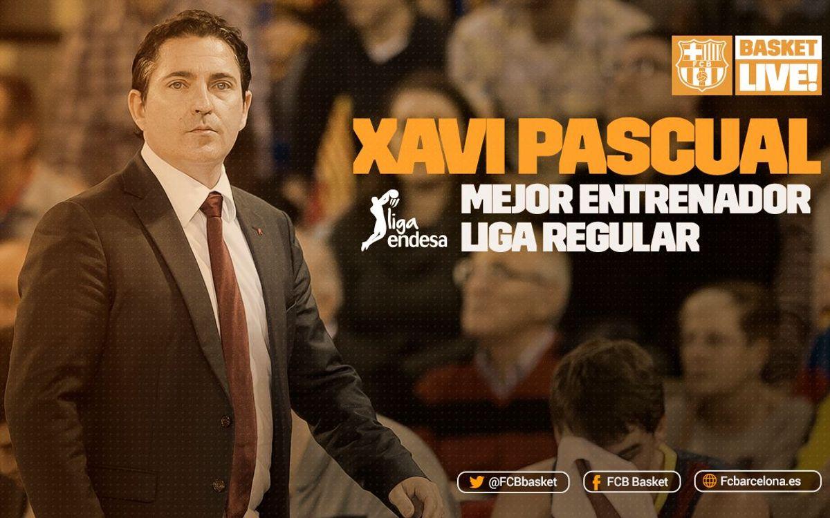 Xavi Pascual, Mejor Entrenador de la fase regular de la Liga Endesa 2015/16