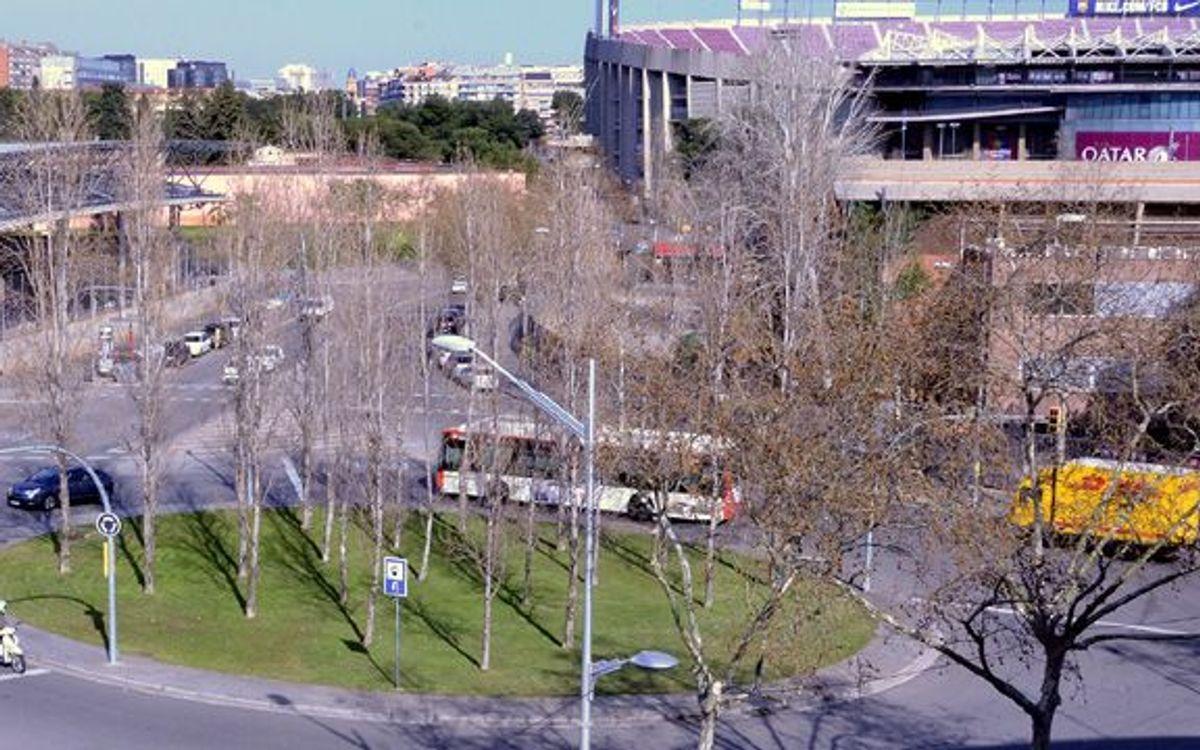 Un pas endavant per a la futura plaça de l'Agrupació Barça Jugadors