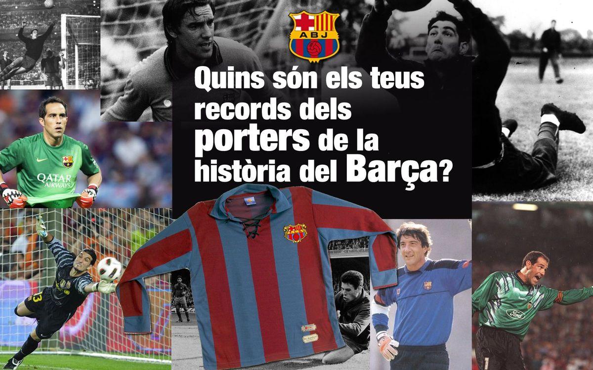 La Crida de l'Agrupació: tria el teu millor record sobre els porters de la història del Barça i guanya una samarreta vintage del club