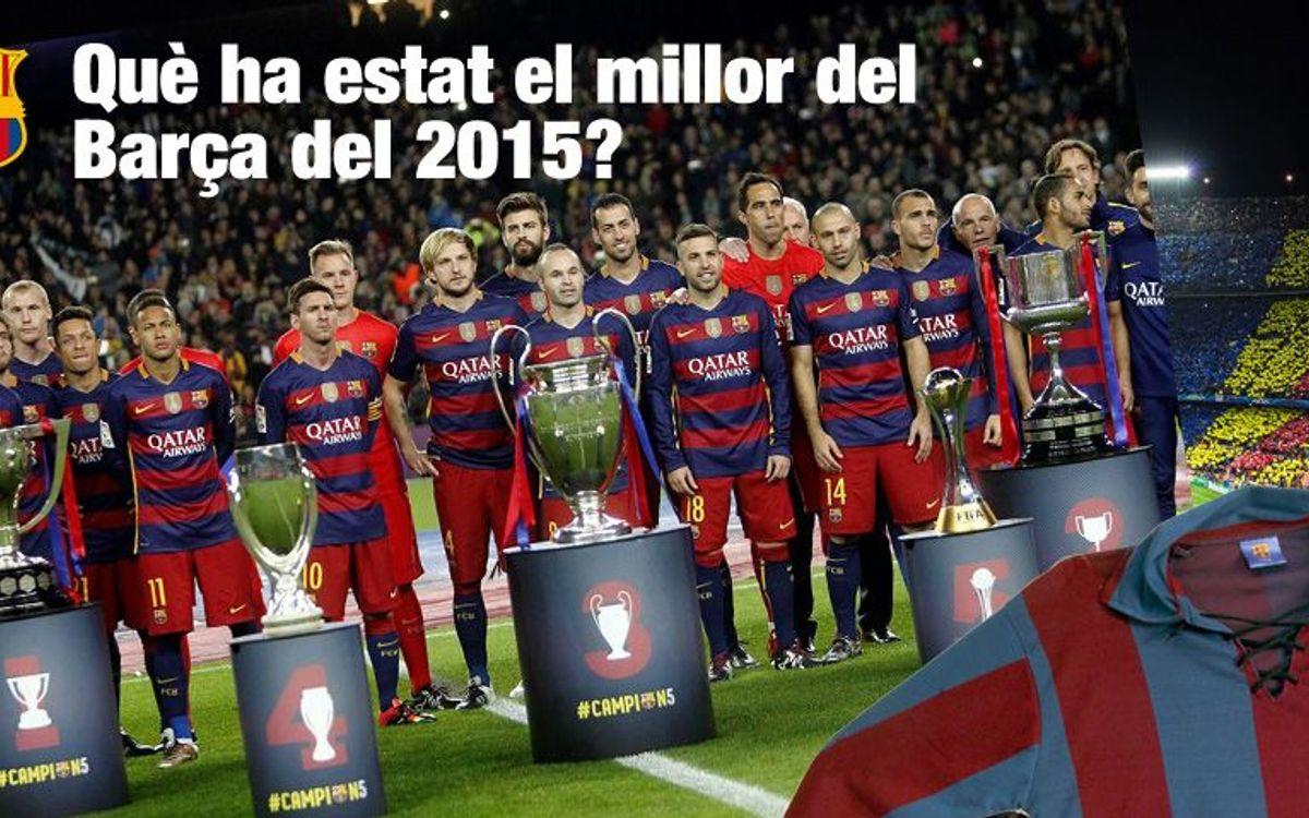La Crida de la Agrupació: gana una camiseta vintage del Barça