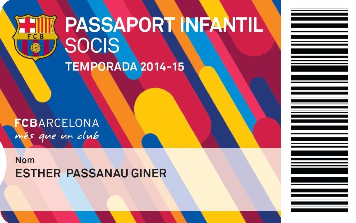Novedades en el área social: pasaporte infantil, cesión de abono de los socios séniors e infantiles y beneficios para los no abonados