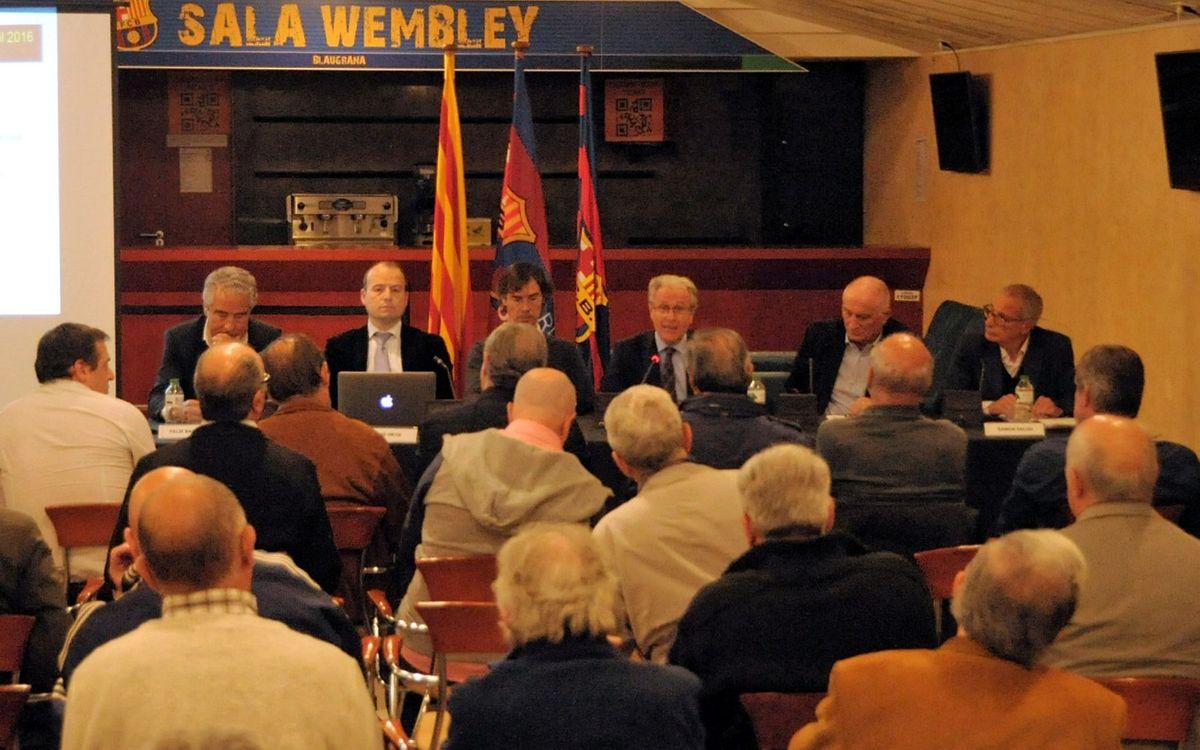La Asamblea de la Agrupación aprueba el informe del 2015 y el proyecto para este año