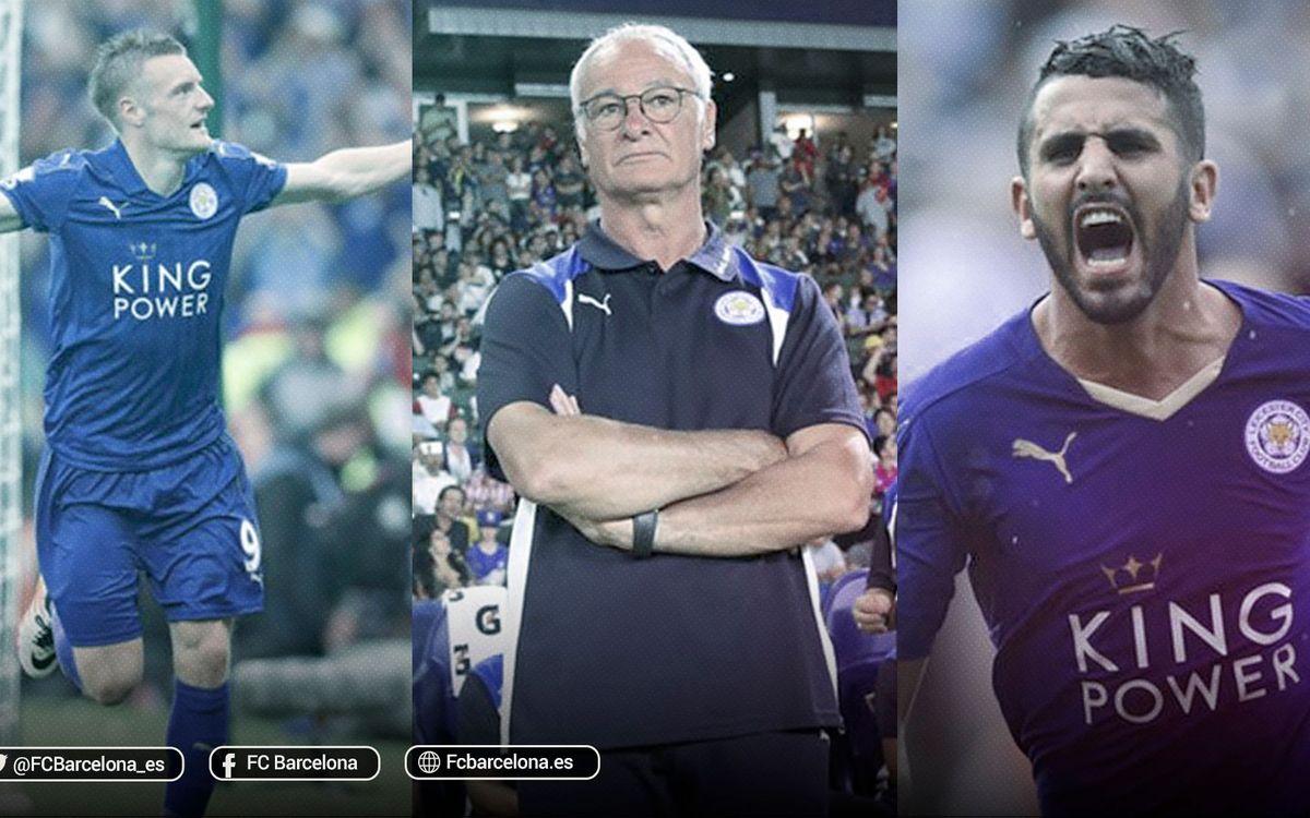 Así es el Leicester campeón de la Premier League