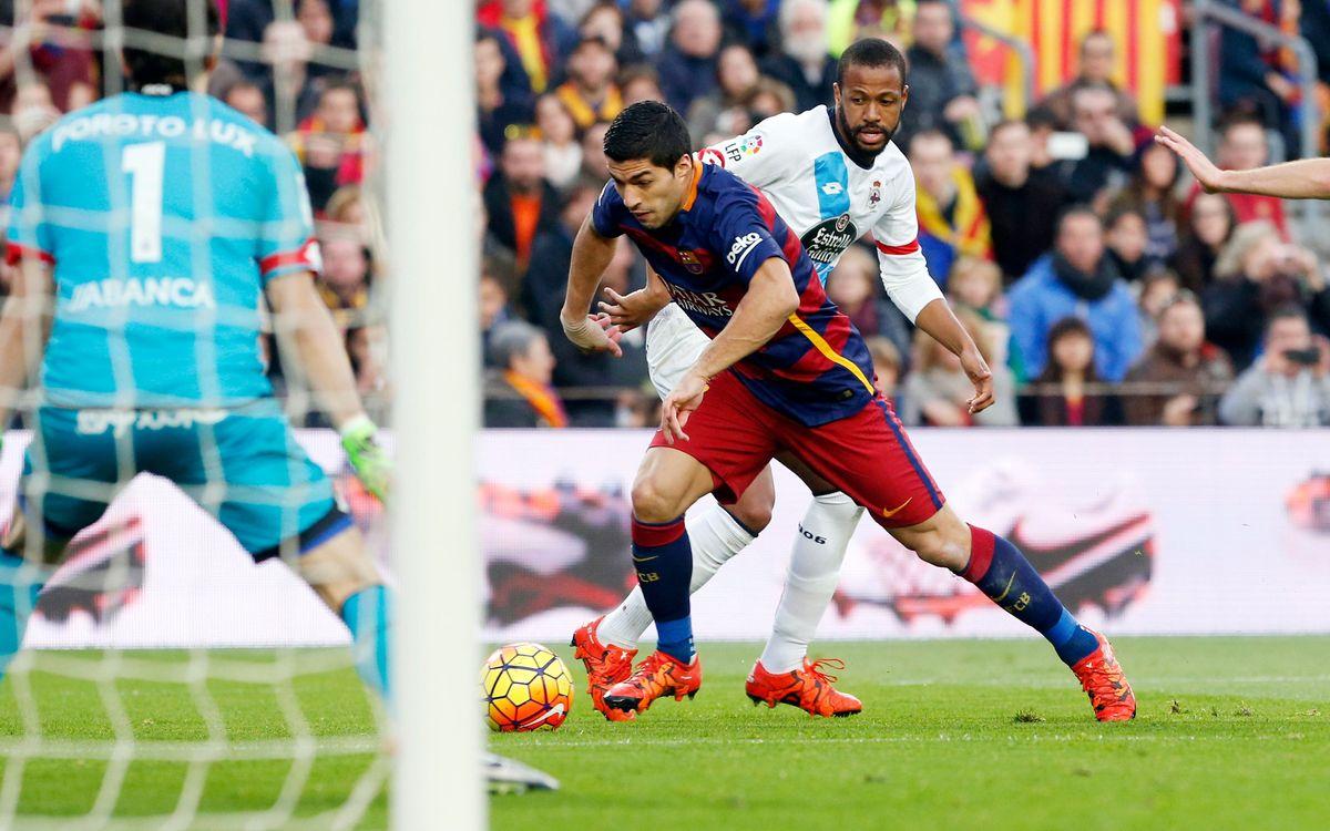 FC Barcelona - RC Deportivo: Empate contra un buen Dépor (2-2)