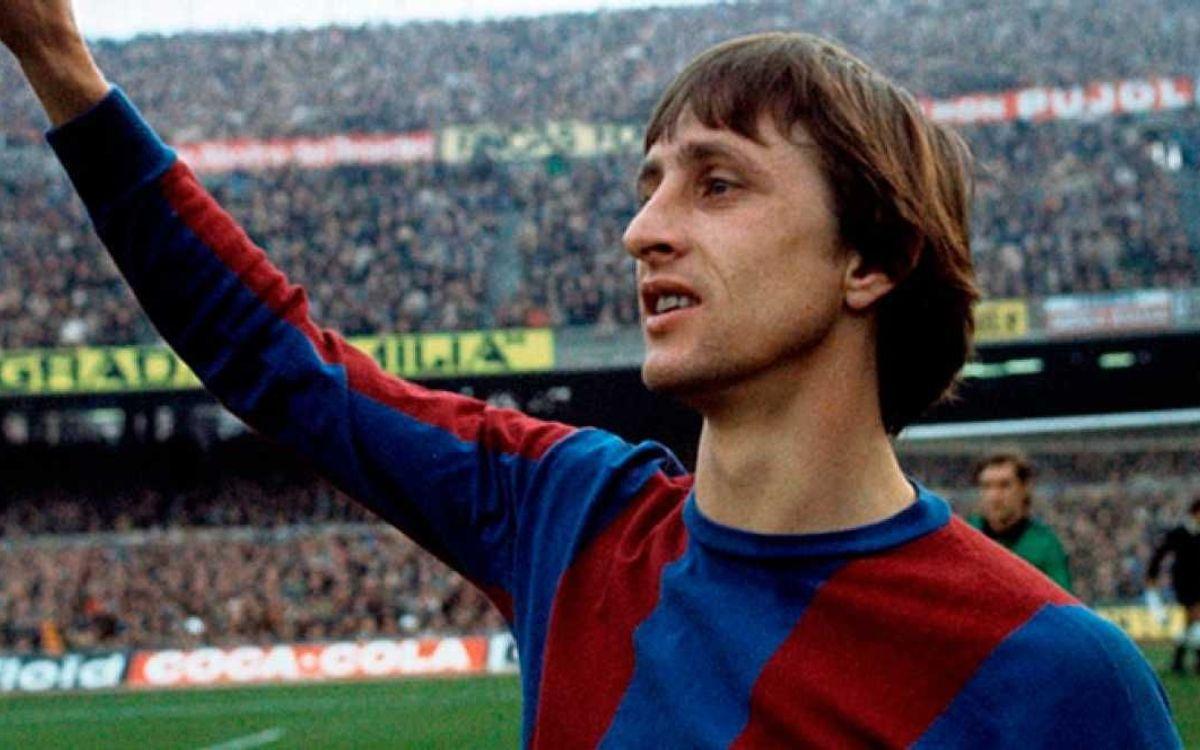 Luto por la muerte de Johan Cruyff