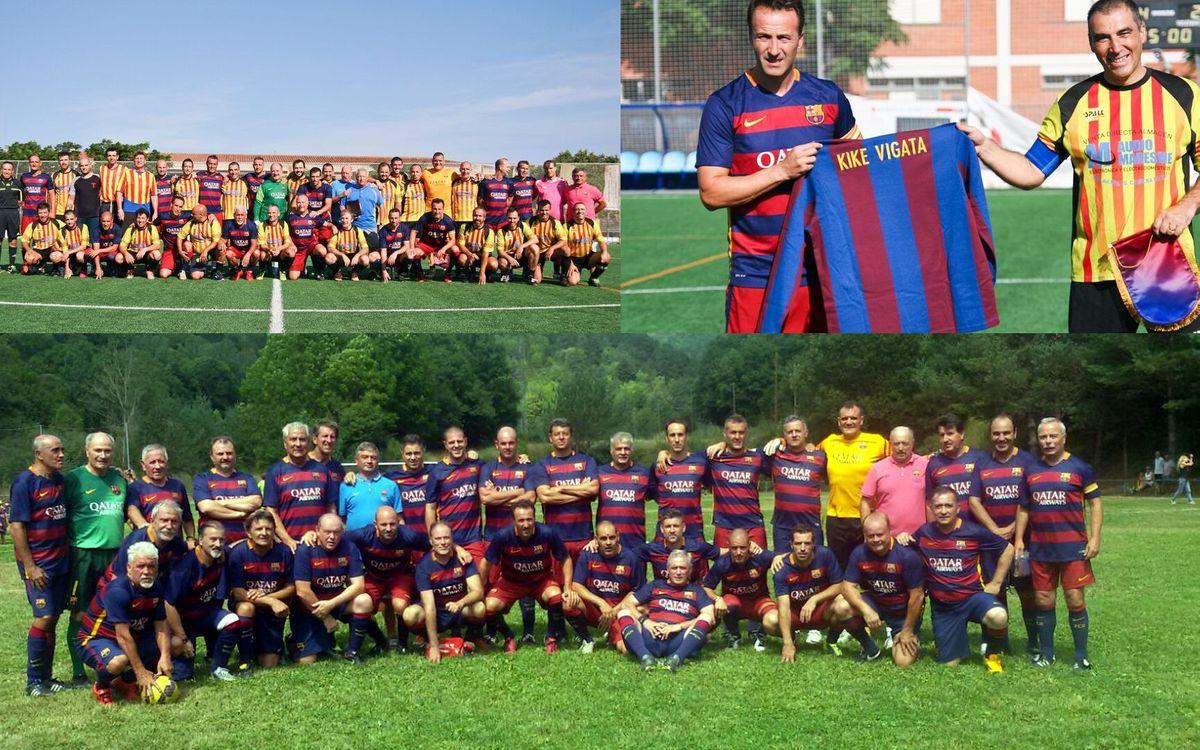 Un agosto con lo que más nos gusta: jugar al fútbol