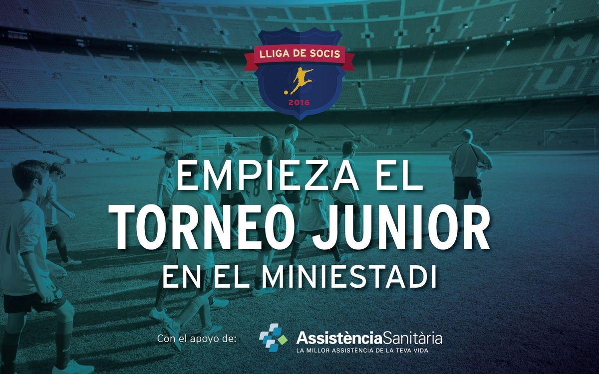 Comienza el Torneo Junior de socios