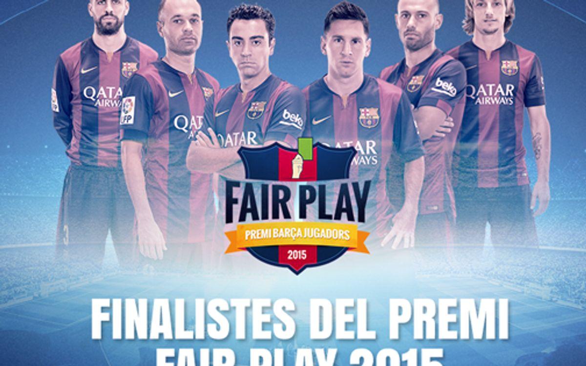 El 6è. Premi Barça Jugadors ja té els finalistes
