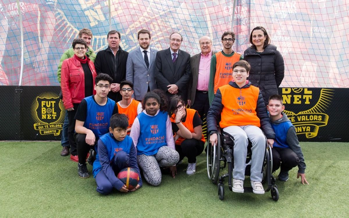 Festival 'FutbolNet' al districte de Nou Barris