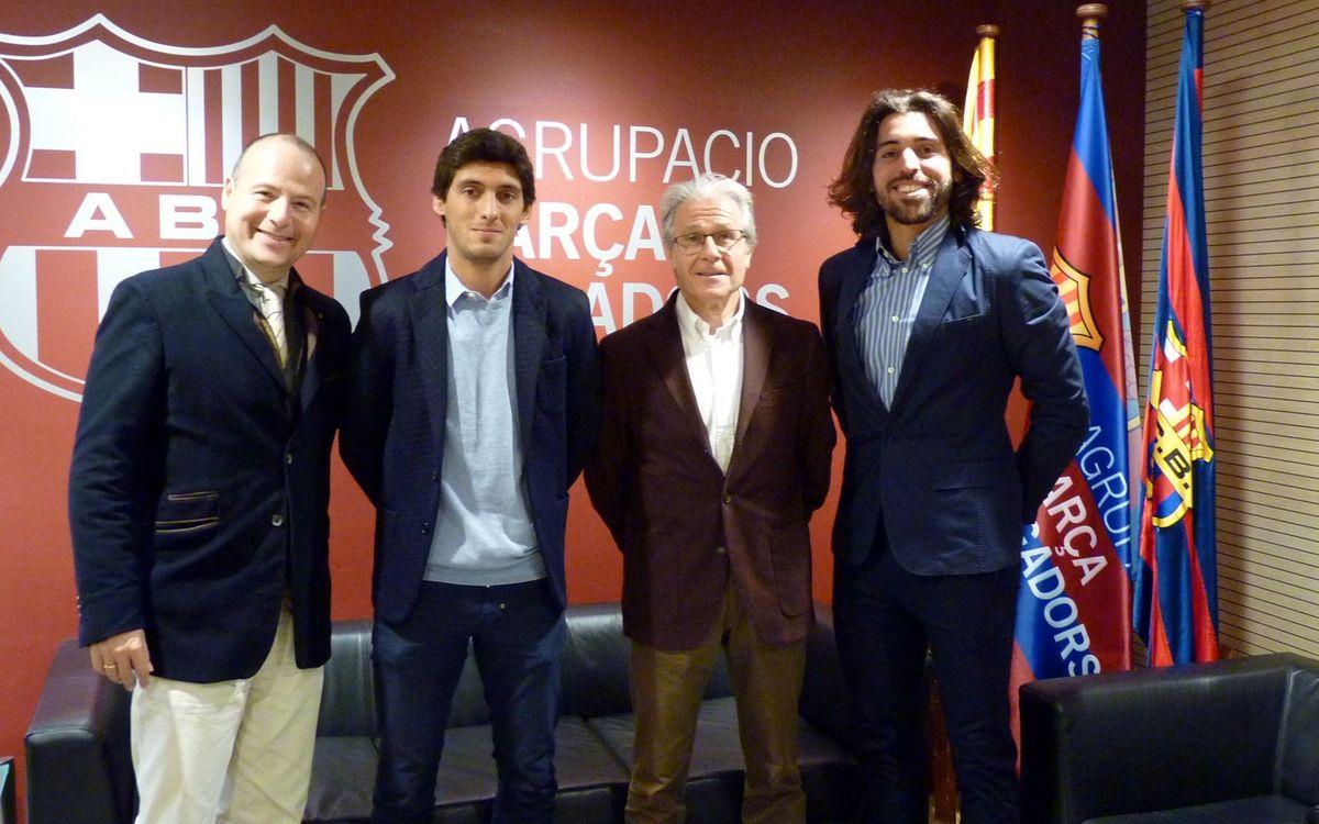 L'Agrupació Barça Jugadors i ISL Futbol amplien la col·laboració