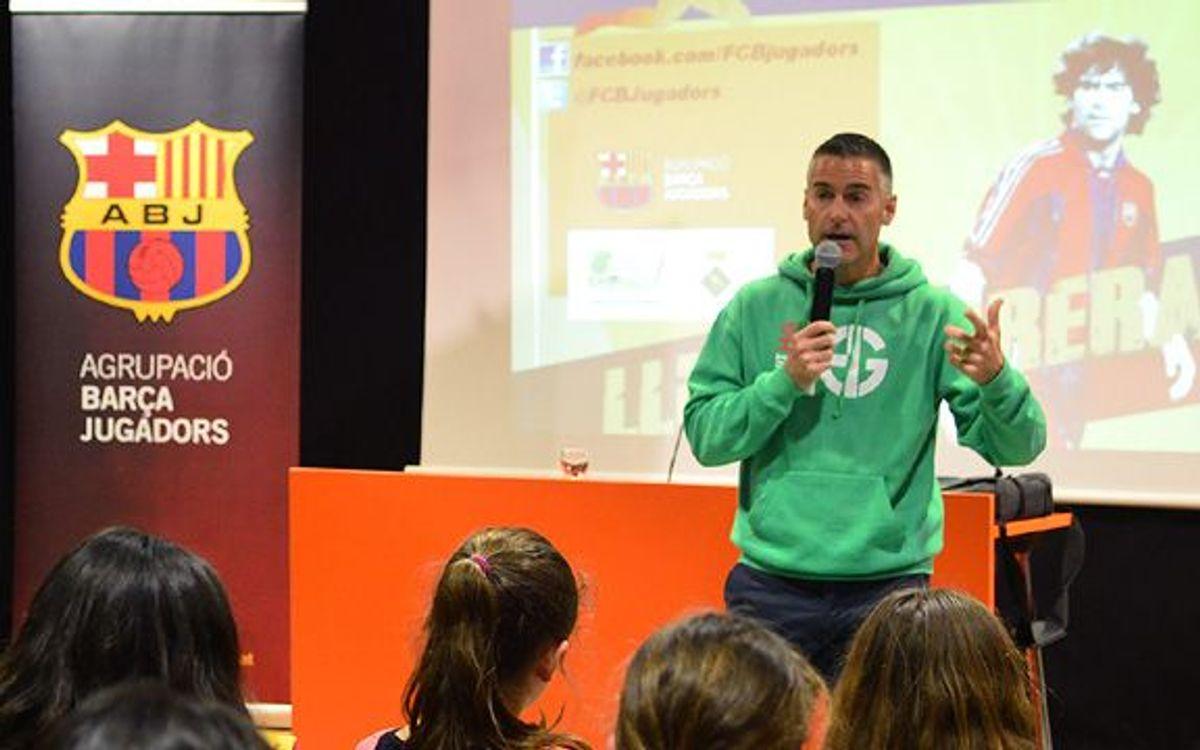 Lluís Carreras parla de futbol i valors a Tordera