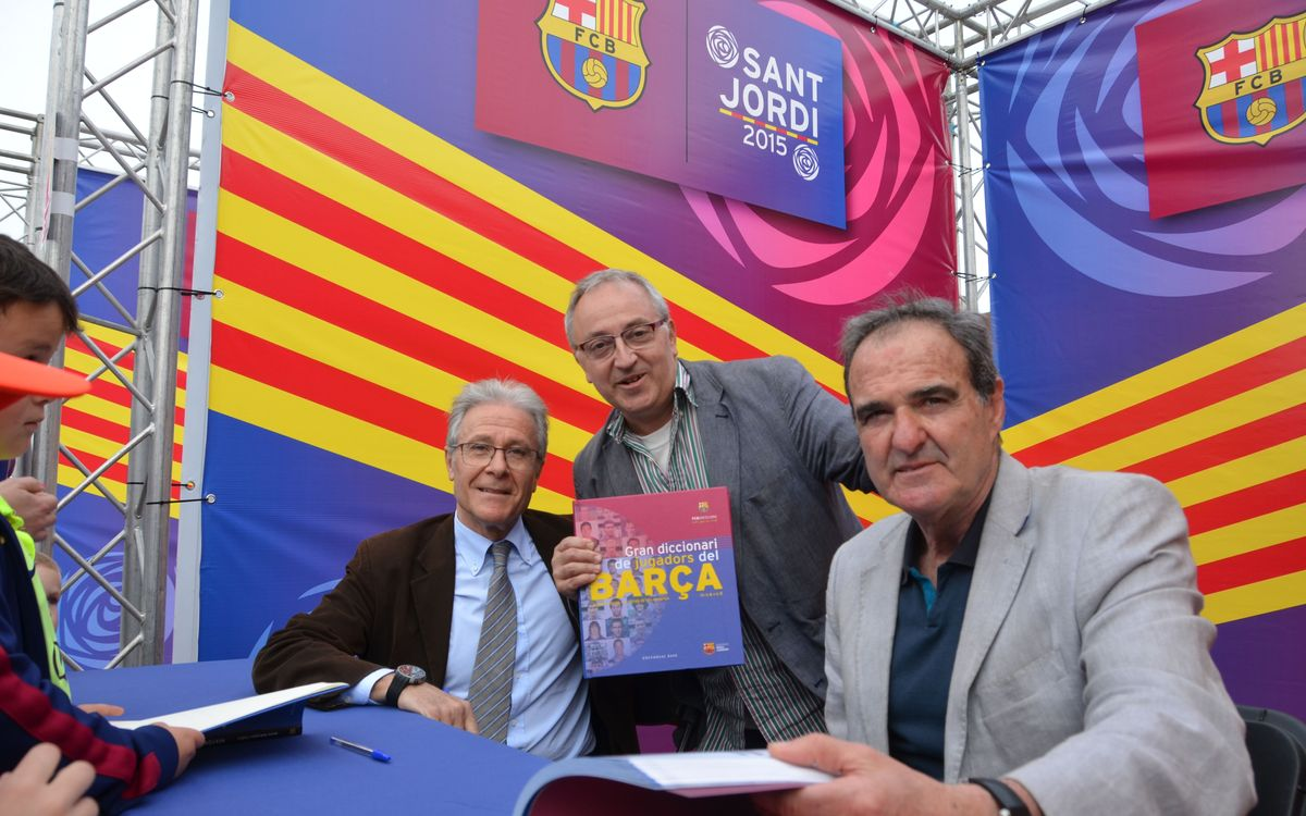 El Gran Diccionari de Jugadors del Barça ja és una realitat
