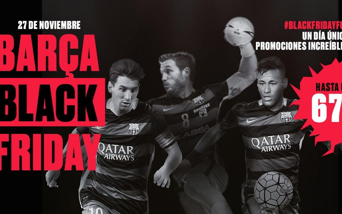 El Barça celebra el Black Friday con las mejores ofertas de la temporada