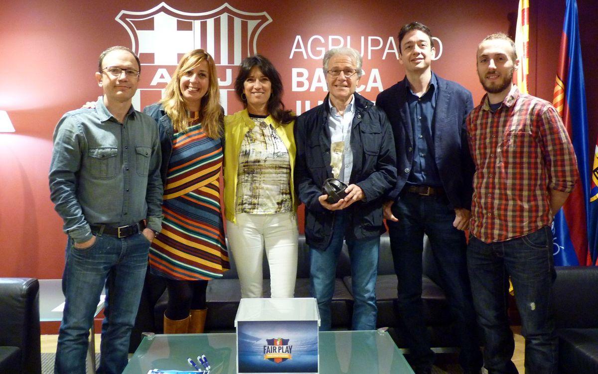A punto para empezar el Premio Barça Jugadors 2016