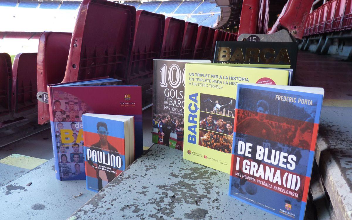 Libros para conocer mejor a los jugadores del Barça