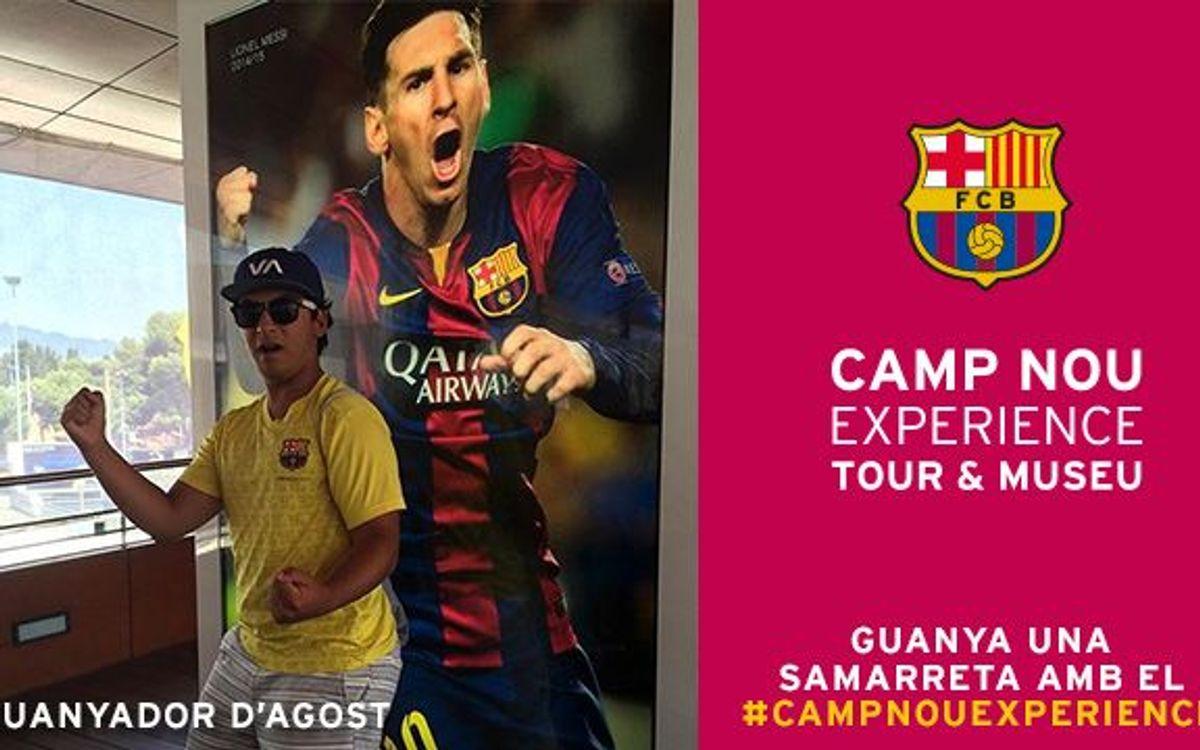 El concurs Camp Nou Experience ja té guanyador