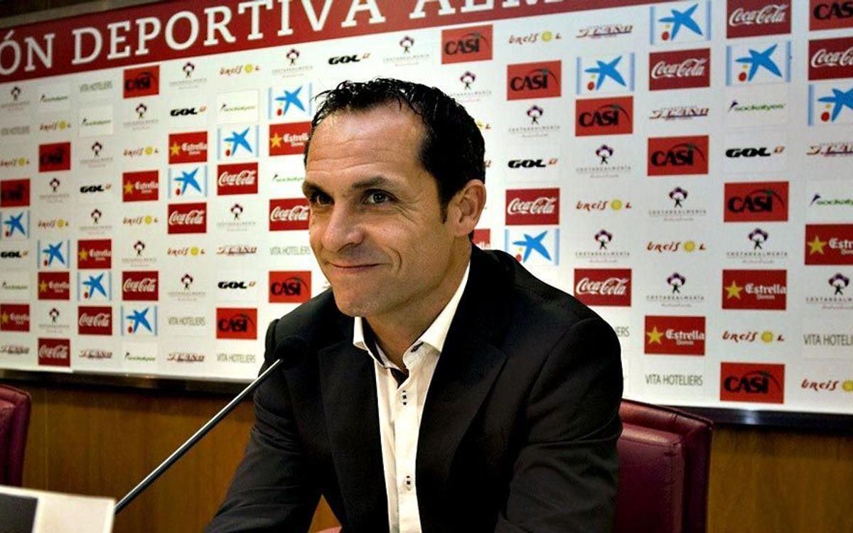 Sergi Barjuan, nou entrenador de l'Almería
