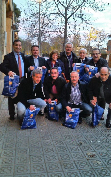 Les visites solidàries van portar barcelonisme a 60 joves