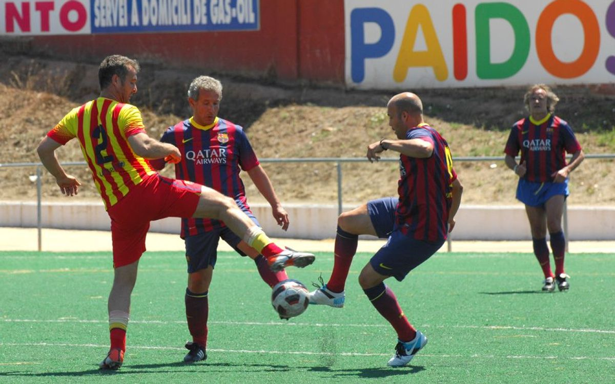 La 14a Trobada de Jugadors del Barça tanca la Setmana Barça Jugadors