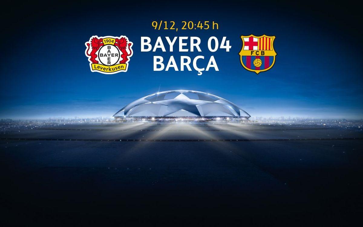 La sol·licitud d'entrades per al Bayer Leverkusen-FC Barcelona, a partir del dilluns 9 de novembre