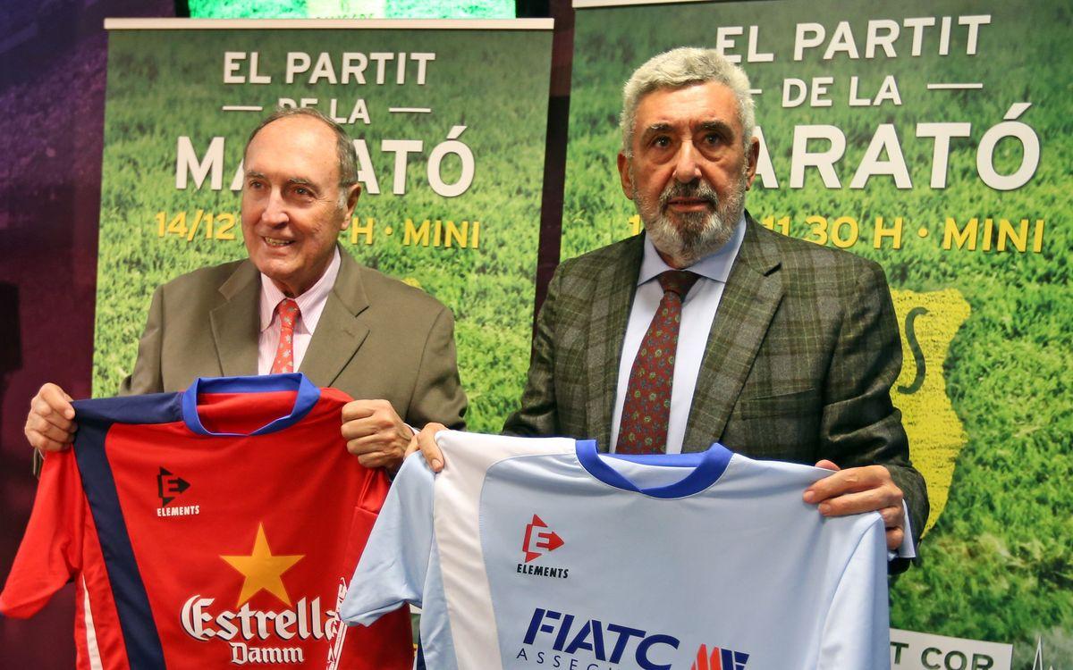 Diumenge solidari al Mini amb La Marató de TV3 i el partit de famosos contra famosos