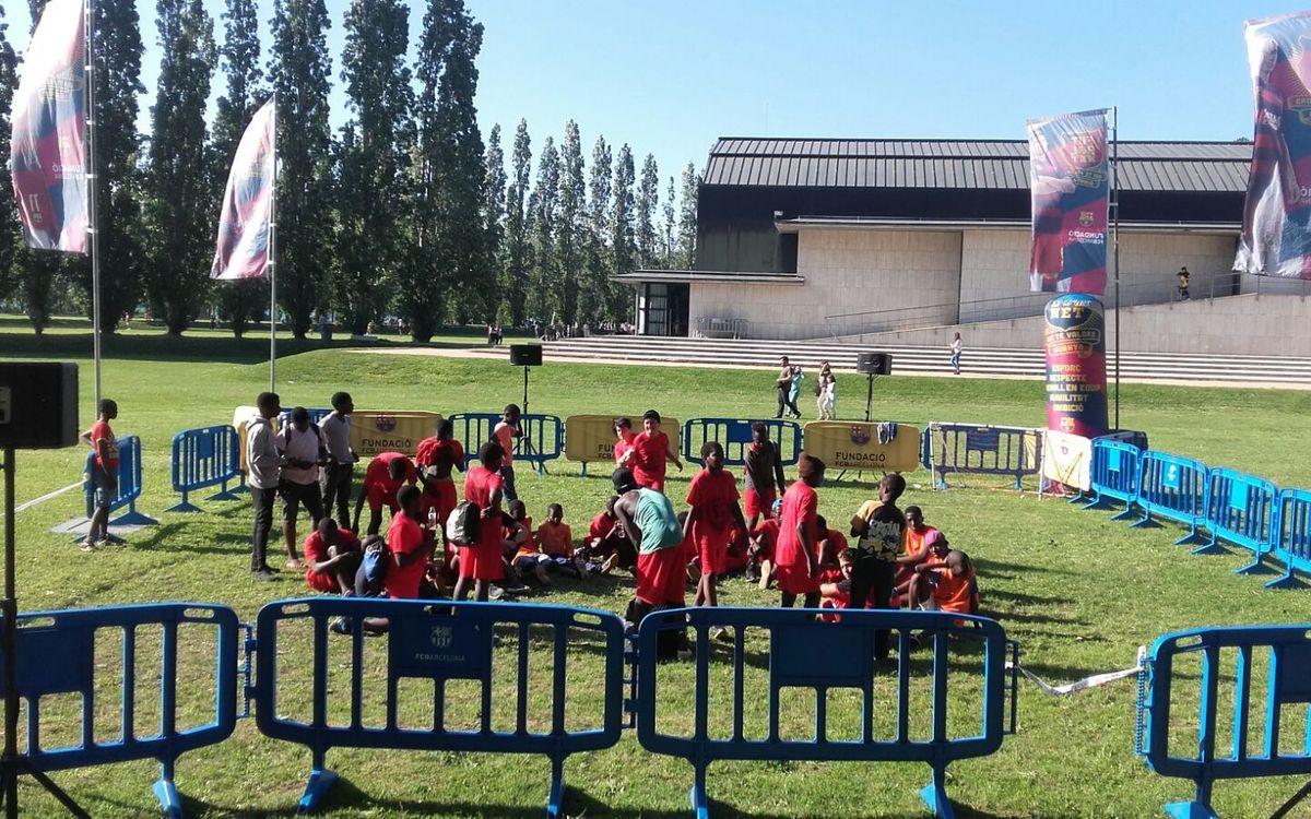 'FutbolNet' tanca el curs amb la celebració dels seus Festivals