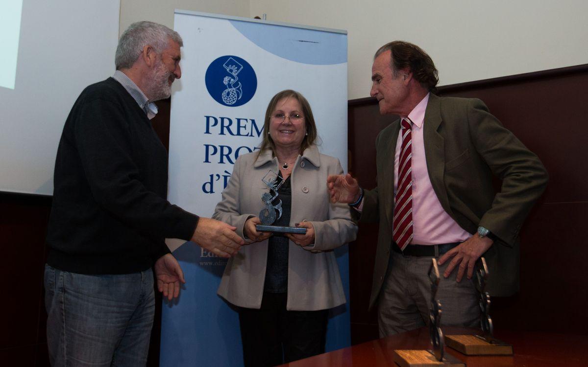 El projecte 'Barçakids' de la Fundació FCB, premiat als V Premis Proteus per fomentar els valors socials