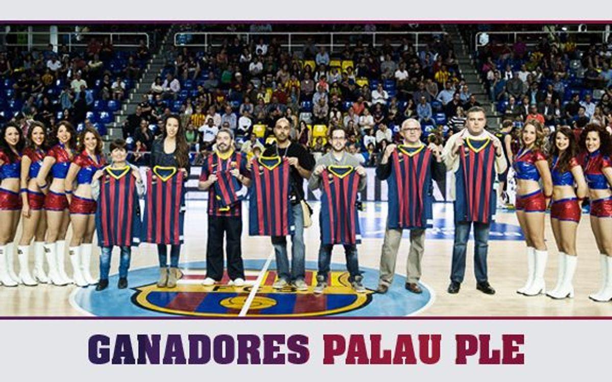 Ganan una camiseta gracias al Abono Palau Ple