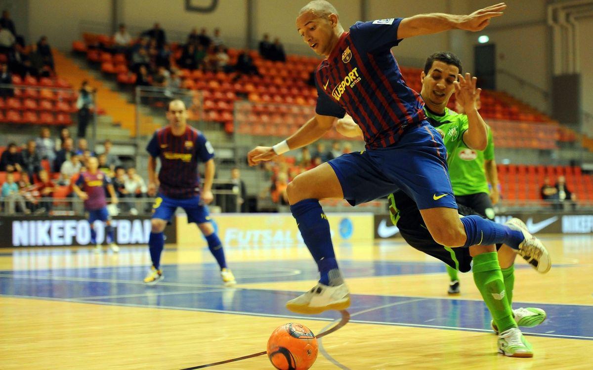 Las entradas de la UEFA Futsal Cup, a la venta