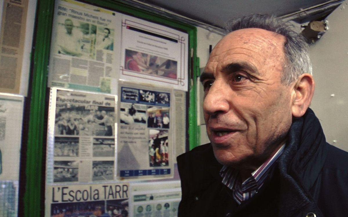 Joaquim Rifé és un dels protagonistes del