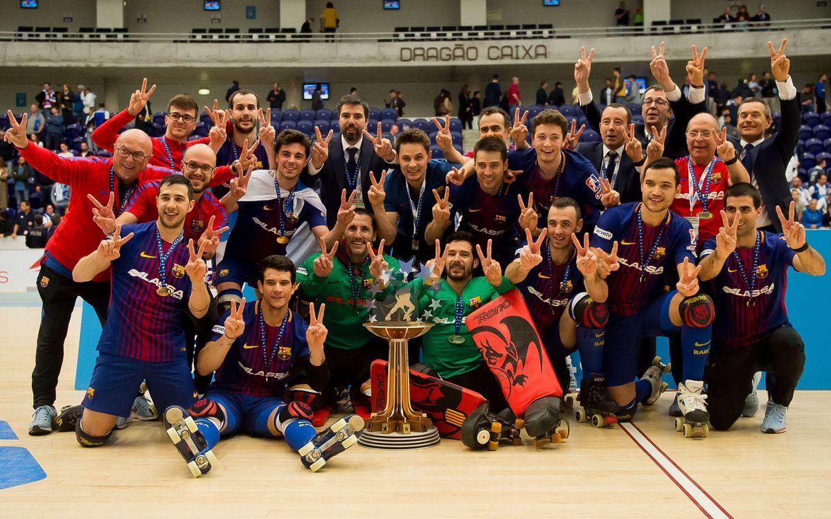 El Barça Lassa defenderá la Liga Europea en Lisboa